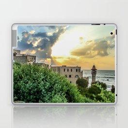 Sunset Old Jaffa Laptop & iPad Skin