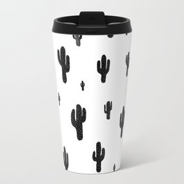 Mesa - black on white Travel Mug