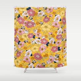 Daisy Docs Shower Curtain