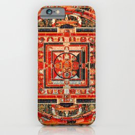 Mandala Buddhist 9 iPhone Case