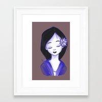 mulan Framed Art Prints featuring Mulan by Lilolilosa