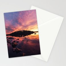 Arcing to the Island Stationery Cards