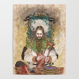Bragi the bard of the Gods Poster