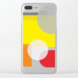 Tech geometric colorful Background #society6 #decor #buyart #artprint Clear iPhone Case
