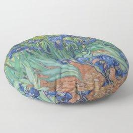 Irises Floor Pillow