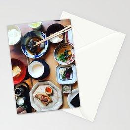 Japanese breakfast Stationery Cards
