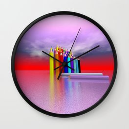 time to draw a picture -2- Wall Clock
