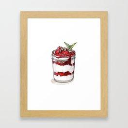 Desserts: Yogurt Parfait Framed Art Print