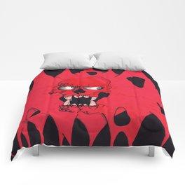 Blood Skull Comforters