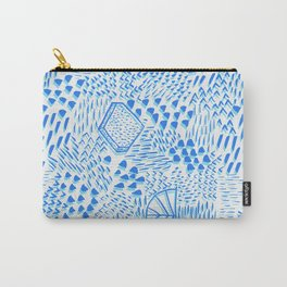 Luminious Way Azores Blue Carry-All Pouch
