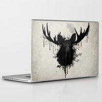 moose Laptop & iPad Skins featuring Moose by Nicklas Gustafsson