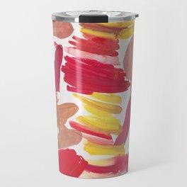 41   | 190408 Red Abstract Watercolour Travel Mug