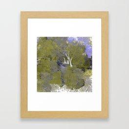 Abstract Landsape Framed Art Print