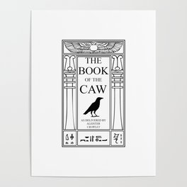 The Book of the Caw Poster