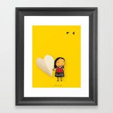 Share your Heart Framed Art Print