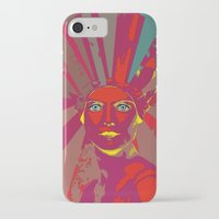 medusa iPhone & iPod Cases featuring MEDUSA by Julia Lillard Art