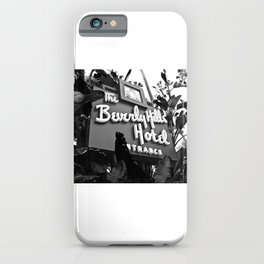 Beverly Hills Trance iPhone Case
