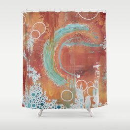 Life is the Bubbles Shower Curtain