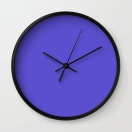 Iris - solid color Wall Clock