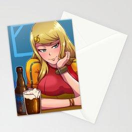 Samus at the Bar Stationery Cards