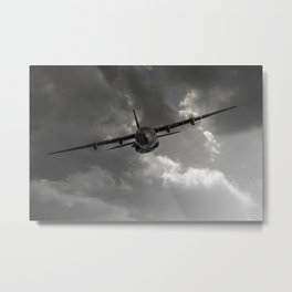 RAF C-130 Transport Metal Print