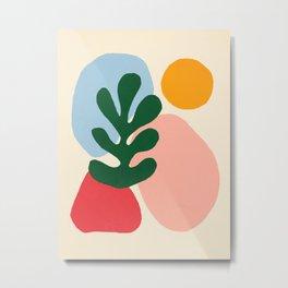 Wildlife | Cutouts by Henri Matisse Metal Print