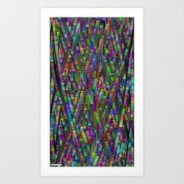 Kinetic Colors 8 Art Print