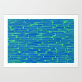 Nuclear Bricks Art Print
