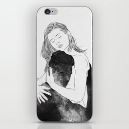 Deeply peaceful heaven. iPhone Skin