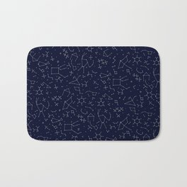 Chemicals and Constellations Bath Mat