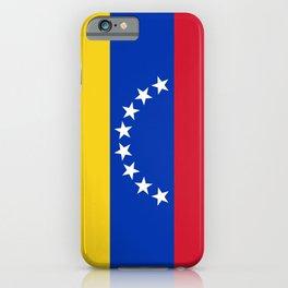 flag of venezuela iPhone Case