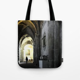 Sovana Cathedral Tote Bag