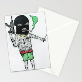 Crime Boy 2000 Stationery Cards