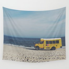 Kismet Beach Bus Wall Tapestry