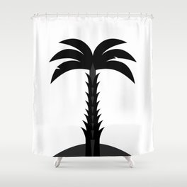 palmtree Shower Curtain