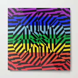 Best Abstract Art (Peace Colors) Metal Print