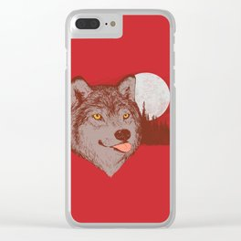 Spirit Derp Clear iPhone Case