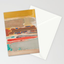 1948 Multiform by Mark Rothko HD Stationery Cards
