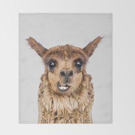 Llama Throw Blanket
