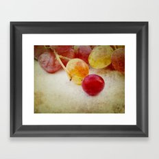 Summer taste Framed Art Print