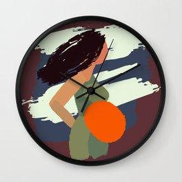 Minimalist pregnancy Wall Clock