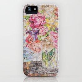 garden bouquet iPhone Case