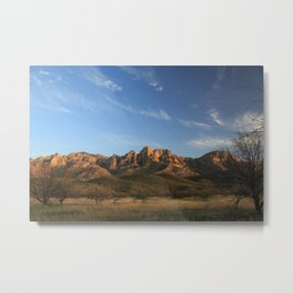 The majesty of the mountains at Catalina State Park IV Metal Print