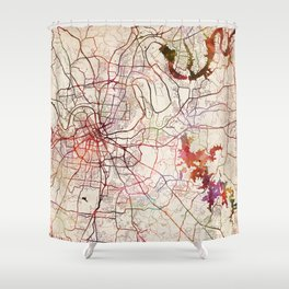 Us Map Shower Curtains