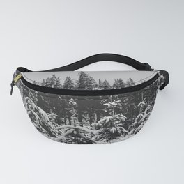 Fir Forest Winter Snow VI - Nature Photography Fanny Pack