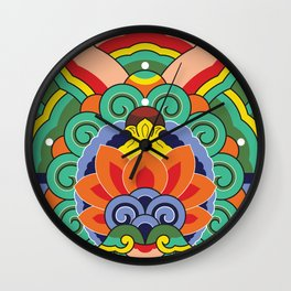 Dancheong_01 Wall Clock