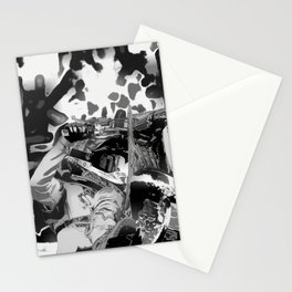 Wheel Stand - Freestyle Motocross Stunt Stationery Cards