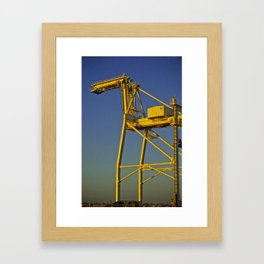 The Attack Framed Art Print