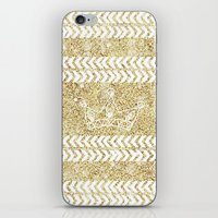 crown iPhone & iPod Skins featuring CROWN by Sara LG