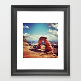 THE Arch of all Arches: Moab, Utah Framed Art Print